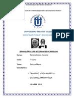 Jerarquia de Las Necesidades de Maslow - Katia Chau y Paola Chau