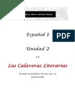 Calaveras Literarias Annia Yatana Cisneros g. 1e