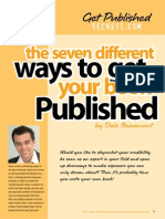 7 Different Ways to Get Published