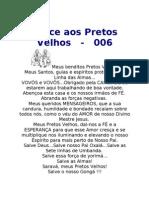 006 Prece Aos Pretos Velhos