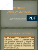 4. Métodos anticonceptivos