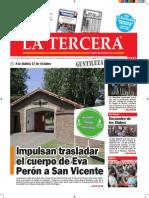 Diario La Tercera 8.12.2014