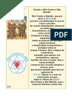 010 Oracao s. Cosme e Damiao