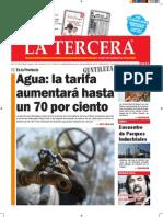 Diario La Tercera 9.12.2014