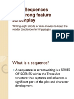 8 Sequences Screenwriting Structure