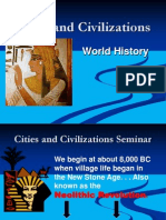 civilization and cities