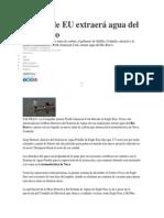 Noticia_Minera de EU Extraerá Agua Del Río Bravo