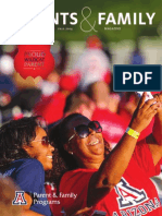 University of Arizona Parents & Family Magazine Fall 2014