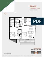 Aperture Vancouver Presale Condo Floor Plan D Mike Stewart