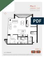 Aperture Vancouver Presale Condo Floor Plan G Mike Stewart