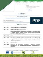 Agenda GLL I Sinaia 10-11 12 2014