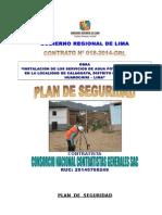 Plan de Seguridad de Obra de Saneamiento