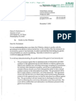 Eric Whitaker Cooperation Letter
