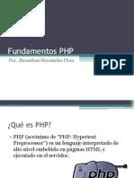 Tema 01 - Fundamentos PHP