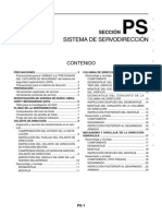 Manual de taller Nissan Sistema de dirección