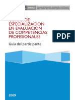 Curso Evaluacion de Competencias Profesionales PDF