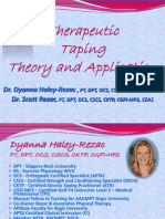1 Theory and Application Therapeutic Taping2012