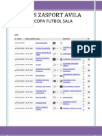Copa Futbol Sala Liga Zasport