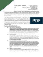UT Dallas Syllabus for cjs3305.001 05f taught by Kimberly Kempf-leonard (kleonard)