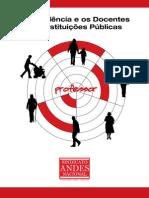 ANDES Guia Previdência Aposentadoria Servidor Público Federal Docente Professor Universitário