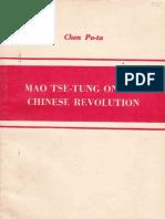 MaoTse TungOnTheChineseRevolution ChenPo Ta 1953