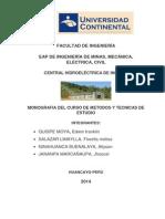 Monografias Central Hidroelectrica