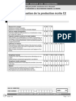 Evaluation Production Ecrite c2