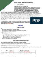 UT Dallas Syllabus for biol4337.001 06s taught by Vincent Cirillo (cirillo)