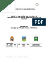 P6450 INF Nº2 Estudio de Tránsito Ruta 5 Sur Parral REV B