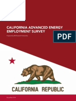 Advanced Energy Employment Survey California
