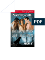 Scarlet Hyacinth - Feral 02 - The Mates Who Gave Him Salvation