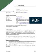 UT Dallas Syllabus for ba3352.521 06u taught by Qi Feng (qxf011100)