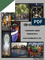 City of Fontana - Comprehensive Annual Financial Report