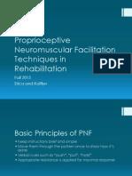 proprioceptive neuromuscular facilitation techniques in rehabilitation