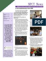 Winter Spring 2010 Newsletter