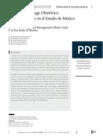 Triage Obstétrico y Código Mater
