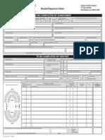 Blue Cross Blue Shield Dental Expense Claim Form