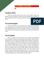 concise history of the roman civilization-libre