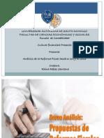 Analisis de La Reforma Fiscal 2009 - 2011 y 2013