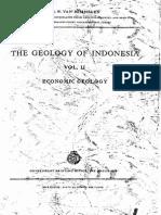 RW Van Bemmelen Geology of Indonesia Vol-II Economic Geology