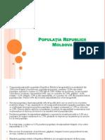 Populatia Republicii Moldova