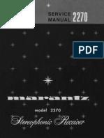 Marantz 2270 Service Manual