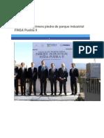 01-12-2014 Periódico Digital.mx - RMV Coloca Primera Piedra de Parque Industrial FINSA Puebla II