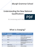 understanding the new national qualifications - v5
