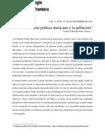 El Sistema Político Mexicano y La Población