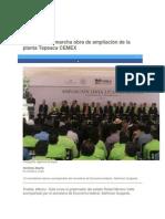 01-12-2014 Periódico Digital.mx - RMV Pone en Marcha Obra de Ampliación de La Planta Tepeaca CEMEX