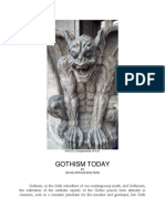 Gothism Today by David Arthur Walters