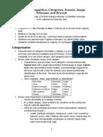 disciplina Linguistica cognitiva em Berkeley