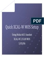Quick XCAL-W MOS Tutorial v2