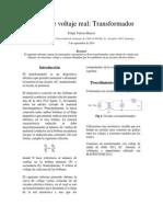 Informe 1 - Transformador